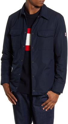 Tommy Hilfiger Padded Snap-Up Shirt Jacket