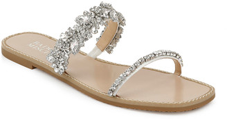 Badgley Mischka Jenelle Flat Slide Sandals