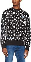 House of Holland Men's Umbro Star Side Rib Sweatshirt Casual Shirt