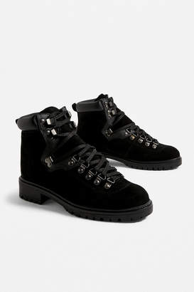 Urban Outfitters Bax Suede Hiker Boot