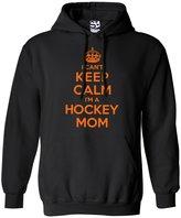 Shirt Boss Unisex Hockey Mom HOODIE - I Can't Keep Calm I'm a 2XL