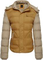 Wantdo Women's Casual Fur Hooded Thicken Quilted Outwear Coat(,US 10)