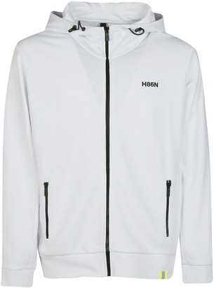 Hogan Side Zipped Pocket Hoodie