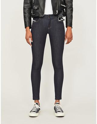 Diesel Slandy mid-rise skinny jeans