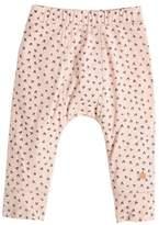 bonniemob Bunny Print Leggings, Pink, Size 3-24 Months