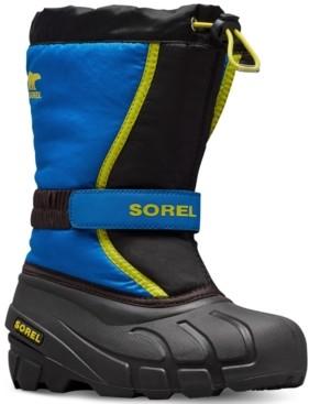 Sorel Youth Unisex Flurry Print Boots Women's Shoes