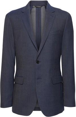 Banana Republic Slim Smart-Weight Performance Wool Blend Suit Jacket