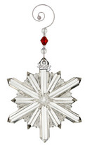 Waterford Crystal Annual Ornaments Annual Snowstar