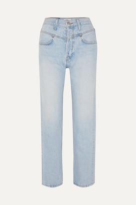 RE/DONE Double Yoke High-rise Straight-leg Jeans