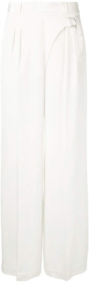 Alexander Wang wrap-effect palazzo pants