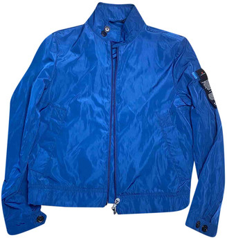 Peuterey Blue Synthetic Jackets