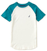 Nautica Big Boys 8-20 Color Block Short-Sleeve Tee
