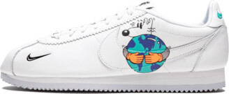 Nike Cortez Flyleather QS 'Earth Day' Shoes - Size 6