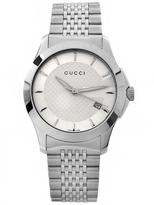 Gucci YA126401 Men's Timeless Silver Stainless Steel Watch