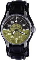 Fortis Fortis;flieger Cockpit Olive Watch.
