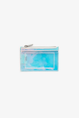 Monki Transparent mini wallet