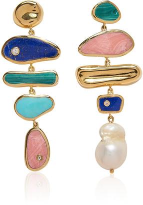 Pamela Love Palma 14K Gold-Plated Earrings