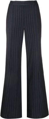 Palmer Harding Pinstripe Straight Leg Trousers