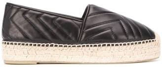 Paloma Barceló Round Toe Quilted Espadrilles