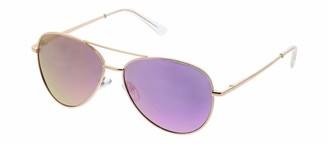 Peepers Women's Heat Wave Reading Aviator Sunglasses