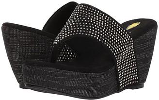Volatile Majestic (Black) Women's Wedge Shoes