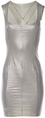 N. Non Signé / Unsigned Non Signe / Unsigned \N Silver Cotton Dresses