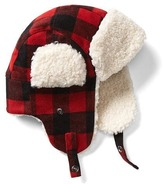 Gap Plaid wool trapper hat