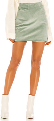 Joelle Gagnard Song of Style Mini Skirt