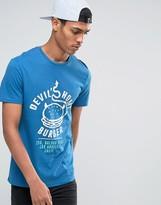 Celio Crew Neck T-shirt With Graphic Print