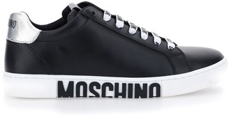 Moschino Logo Lace-Up Sneakers