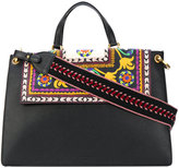 Etro floral shoulder bag - women - Calf Leather - One Size