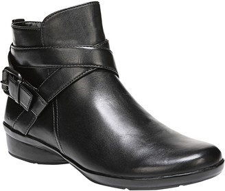 Naturalizer Leather Ankle Boots - Cassandra