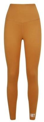 Dorothy Perkins Womens **Hiit Gold Studio Peached Leggings, Gold