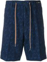 Pt01 tailored patterned shorts