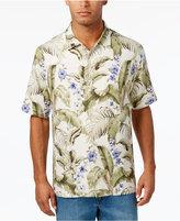 Tommy Bahama Men's 100% Silk Blumenau Foliage Print Shirt