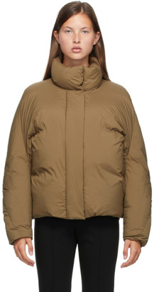 Low Classic Khaki Down Nylon Jacket