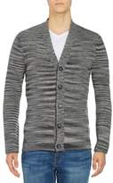 Strellson Marled Button-Front Cardigan Sweater