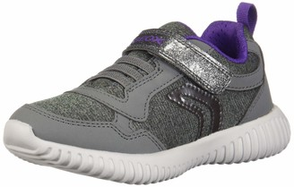 Geox Girls' J Waviness B Low-Top Sneakers