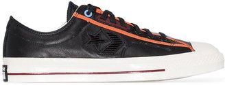 Converse black Star Player OX low top leather sneakers