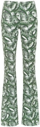 Track & Field Printed Flared Trousers
