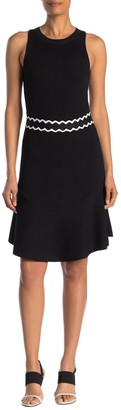 Rachel Roy Ella Contrast Trim Dress