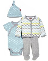 Skip Hop Baby-Boys Starry Chevron 4 Piece Welcome Home Set