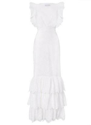 True Decadence White Broderie Maxi Dress