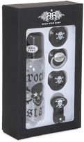 Rock Star Baby Pirate Bottle & Pacifier Set