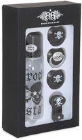 Rock Star Baby Pirate Bottle & Pacifier Set