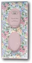 """Laura Ashley Vintage Romantic Floral Calico Fabric 2 Oval Opening Photo Frame - Holds 2 (4"""" x 6"""" Pictures)"""