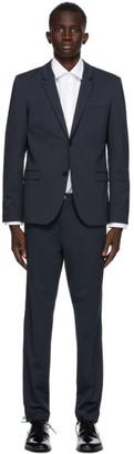 HUGO BOSS Navy Extra Slim Fit Away Suit