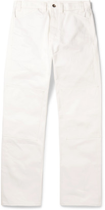 L.E.J Selvedge Cotton-Twill Trousers
