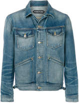 Tom Ford fitted denim jacket