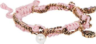Alexander McQueen Friendship Charm Bracelet